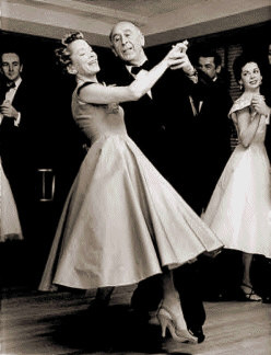 Founder Arthur Murray and Wife Kathryn Dancing