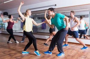 Students Practice During Dance Class